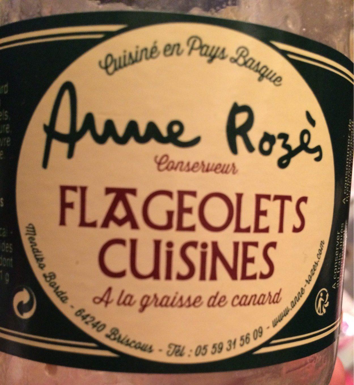 Flageolets cuisinés à la graisse de canard - Produit - fr