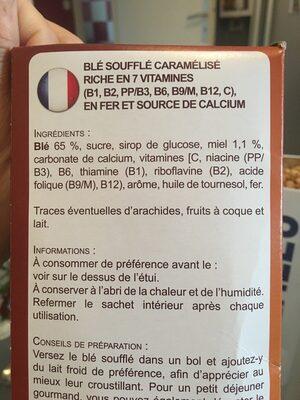 Ble souffle - Ingrédients - fr