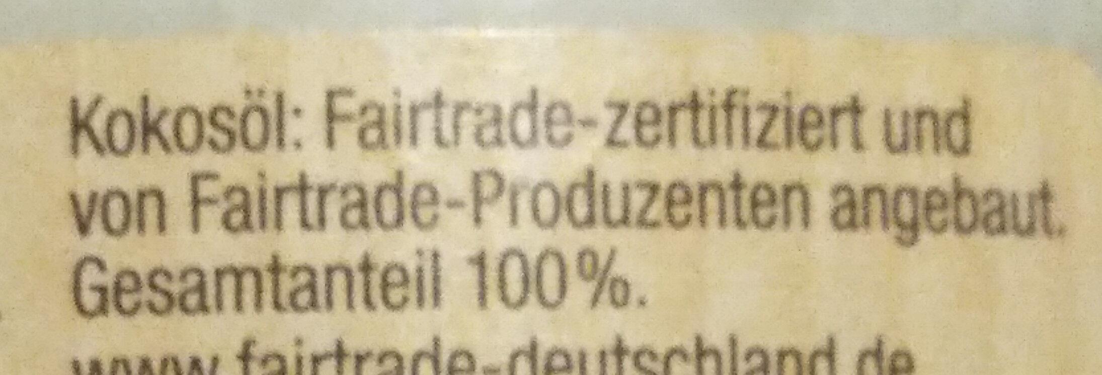 Natives Kokosöl kaltgepresst - Ingredients - de