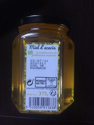 Miel D'Acacia Bio - Valori nutrizionali - fr