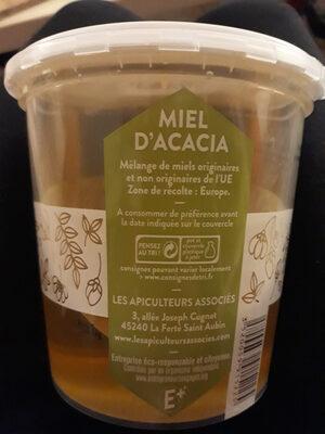 Miel d'acacia - Informations nutritionnelles - fr