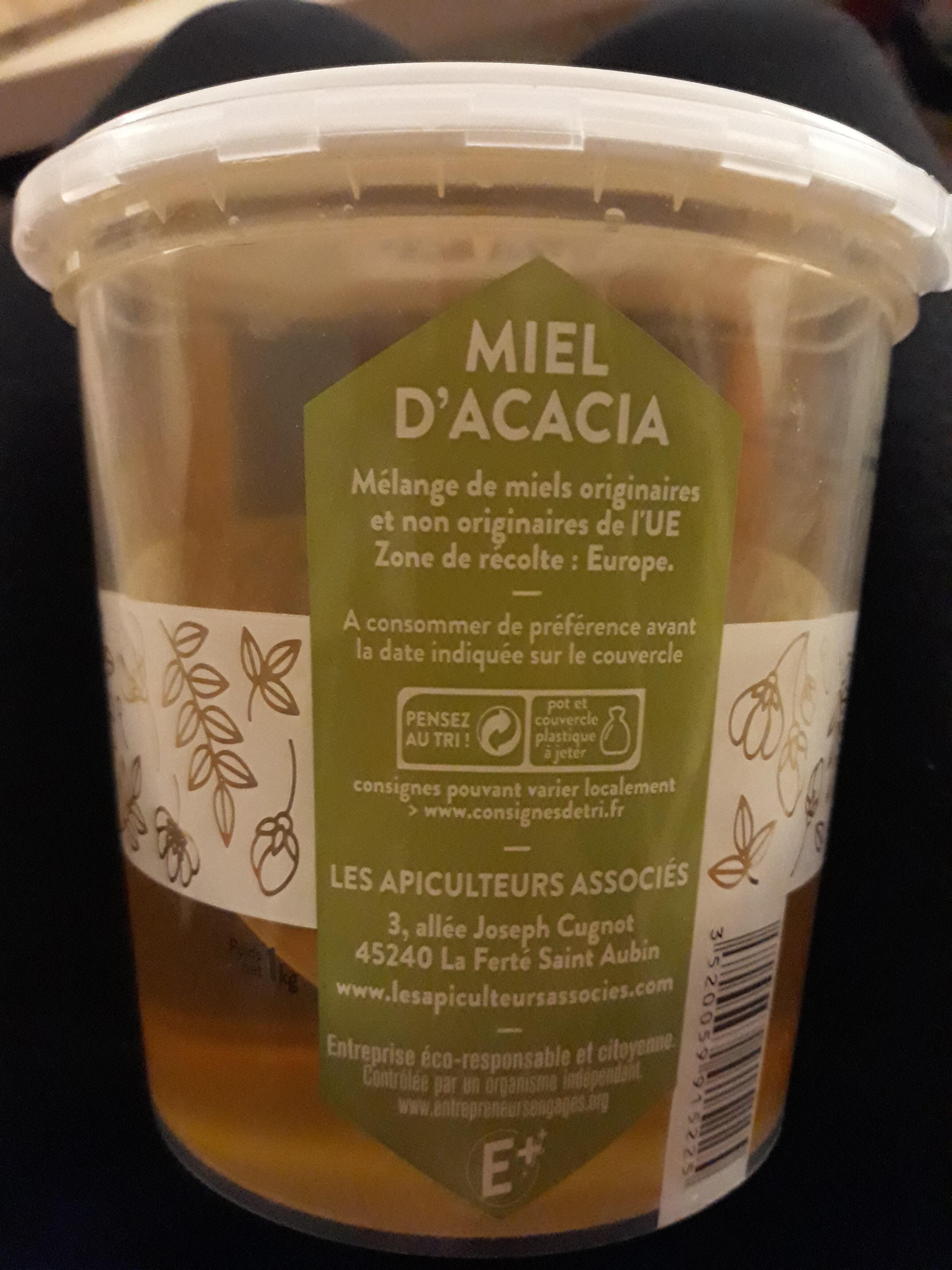 Miel d'acacia - Nutrition facts - fr