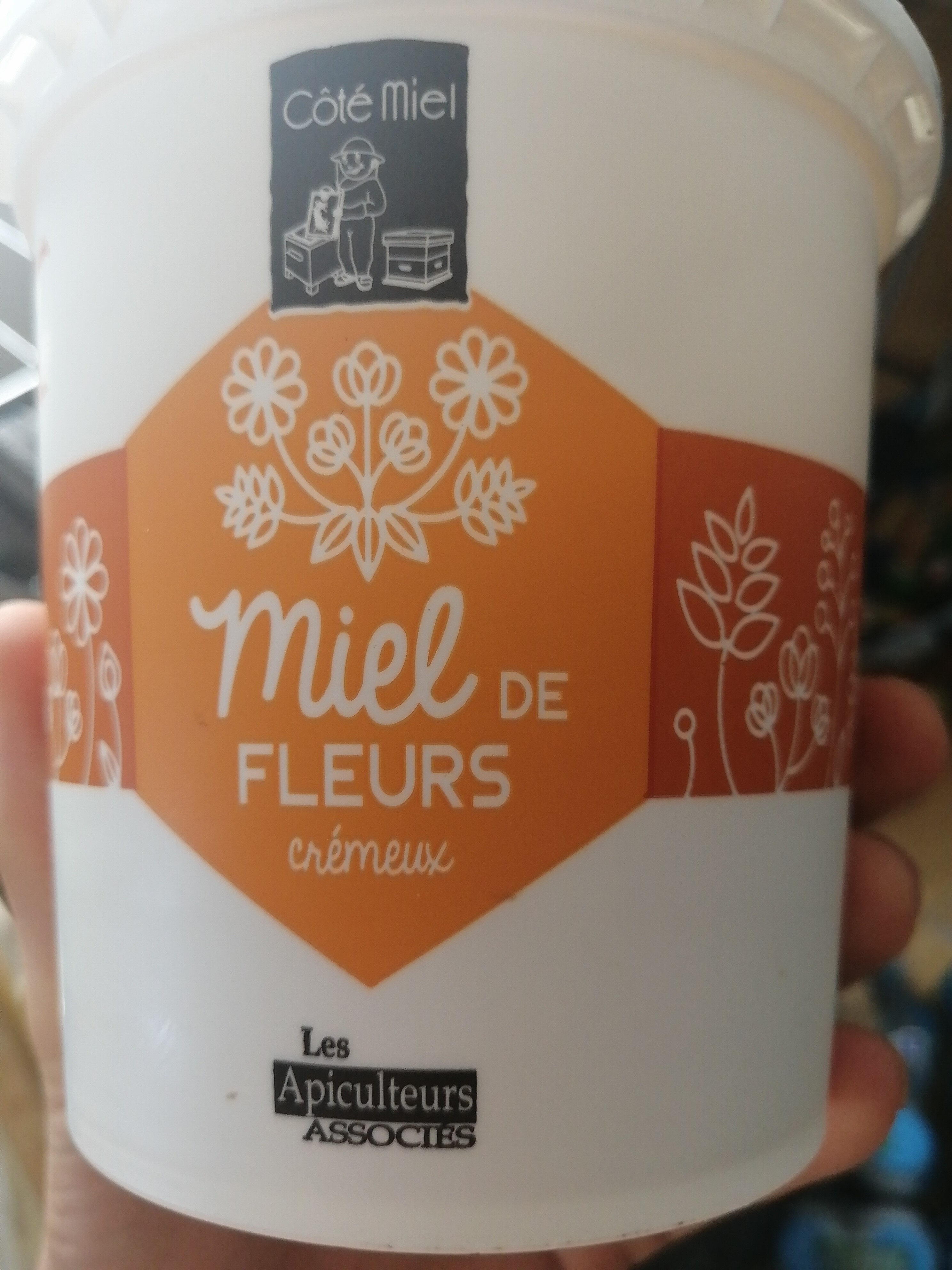 Miel de fleurs crémeux - Nutrition facts - fr