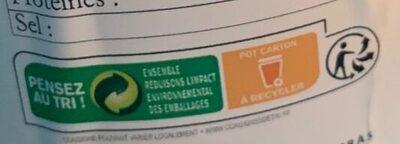 Pistaches grillées et salées - Instruction de recyclage et/ou informations d'emballage - fr