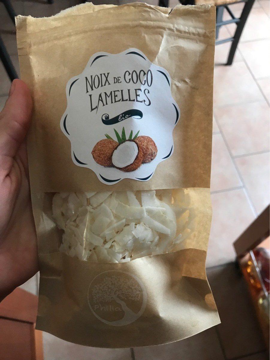 Noix de coco lamelles bio - Produit - fr