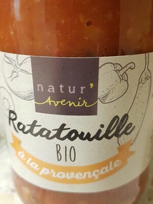 Ratatouille bio à la provençale - Produit - fr