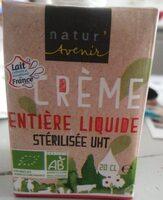 Crème entiere - Product - fr