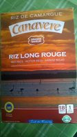 Riz rouge CANAVERE - Product - fr