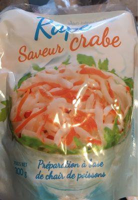Surimi rape 200g saveur crabe - Product