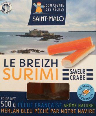 Le Surimi saveur crabe (30 bâtonnets) - 500 g - Product