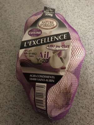 Ail blanc - Product