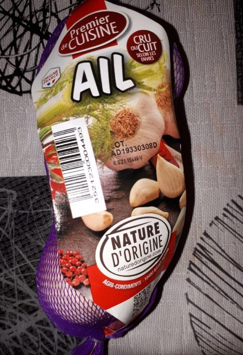 Ail blanc - Nutrition facts