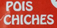 Pois chiches - Ingrediënten - fr