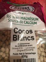 Cocos Blancs - Ingrediënten - fr