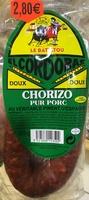 Chorizo pur porc doux au véritable piment d'Espagne - Product