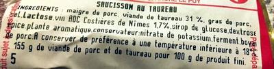 Le Batistou - Ingrédients - fr