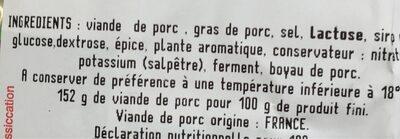 Le batistou saucisson de pays traditionnel - 5