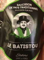 Le batistou saucisson de pays traditionnel - Product - fr