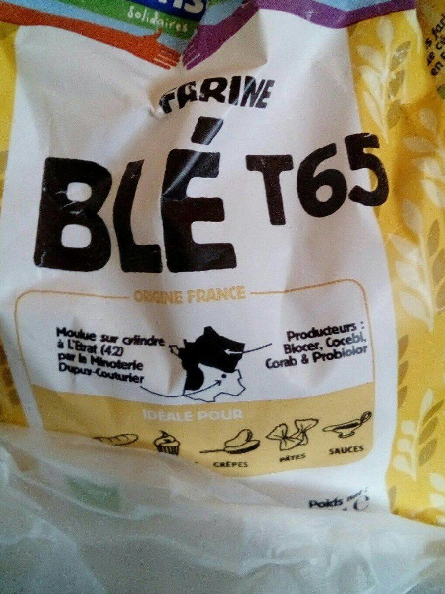 Farine blé t65 - Produit - fr