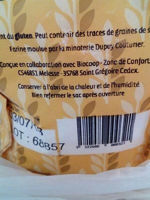 Farine blé t65 - Ingrédients