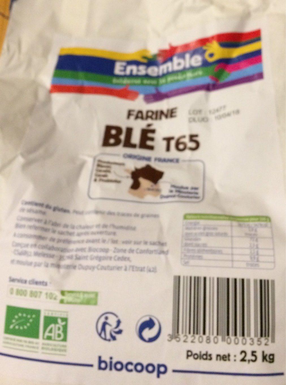 Farine blé T65 bio - Produit - fr