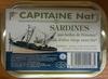 Sardines aux herbes de Provence et à l'huile d'olive vierge extra bio - Product