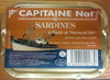 Sardines à l'huile de tournesol bio - Produit