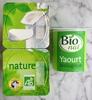 Yaourt nature biologique - Produit
