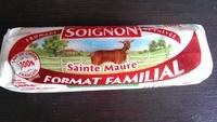 Fromage de chèvre Sainte maure (format familial) (23% MG) - Product - fr