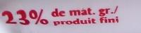 Fromage de chèvre Sainte maure (format familial) (23% MG) - Nutrition facts - fr