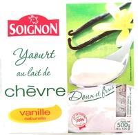 Yaourt au lait de chèvre vanille - Produit