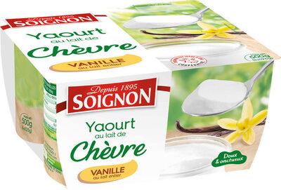 Yaourt chèvre vanille - Produit - fr