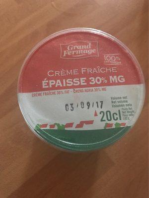Crème Fraîche 30 % - Produit