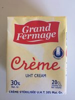 CREME UHT 30% - Prodotto - fr