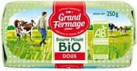 Beurre moulé biologique doux - Product - fr