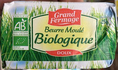 Beurre moulé biologique doux - Product