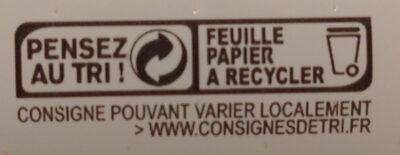 La Bûche maxi format - Instruction de recyclage et/ou informations d'emballage - fr