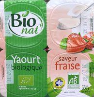 Yaourt biologique saveur Fraise - Product