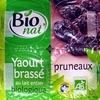 Yaourts au lait entier pruneaux Bio Bionat - Product