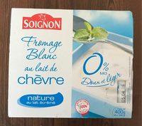 Fromage Blanc au Lait de Chèvre Nature 0% MG - Produit - fr