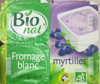 Fromage blanc Biologique Myrtilles - Product - fr
