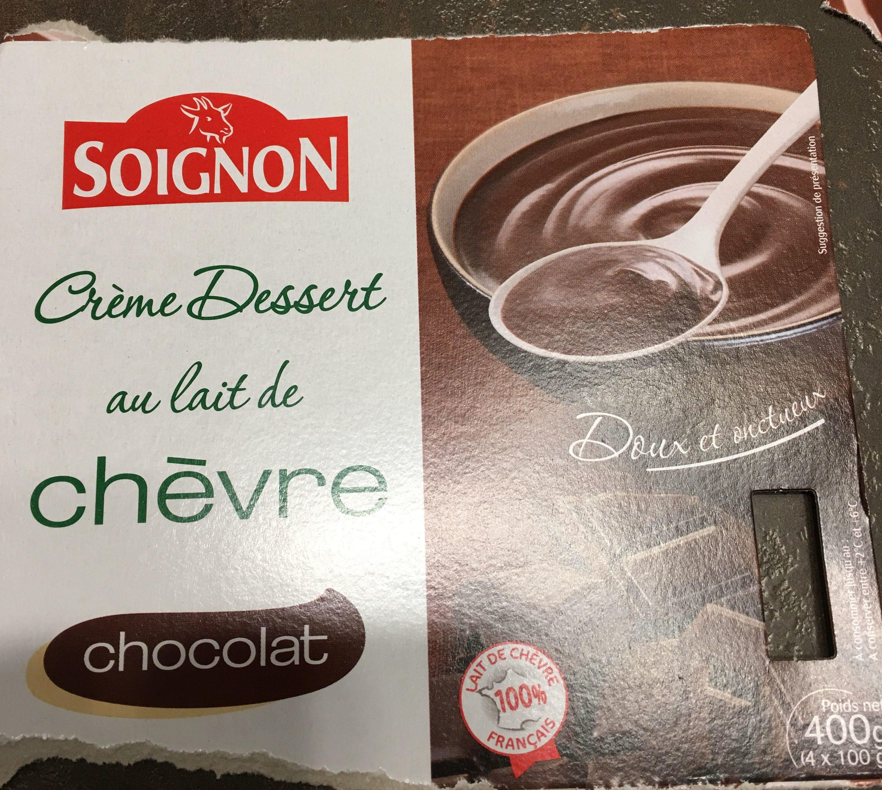 Creme Au Chocolat Au Lait De Chevre Soignon 120 G
