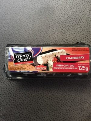 Fresh Goat Log Cranberry - Produit