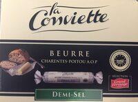 Beurre demi-sel Charentes-Poitou AOP - Produit - fr