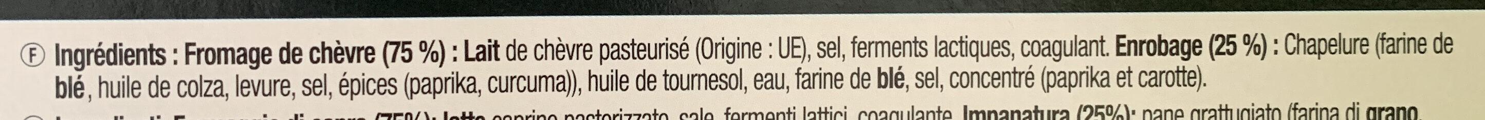Chevre chaud - Ingrediënten - fr