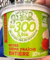 Crème fraiche entière - Product