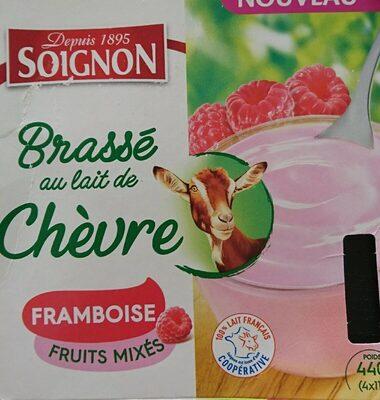 Brassé Framboise au lait de chèvre - Product - fr