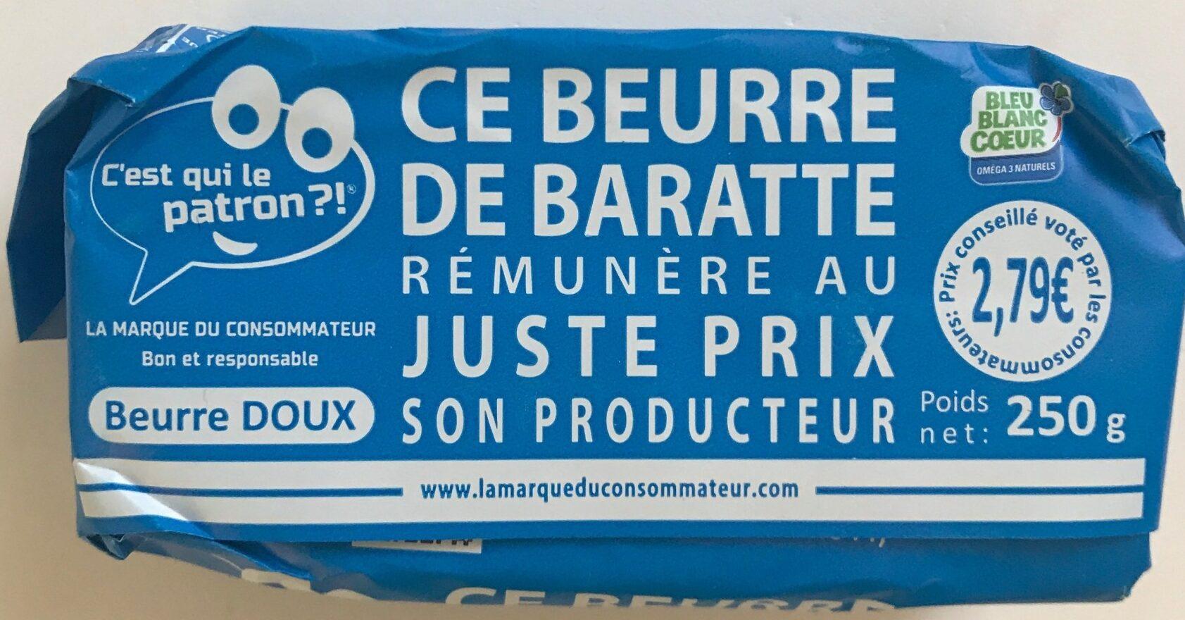 Beurre de Baratte Bleu-Blanc-Coeur - Product - fr