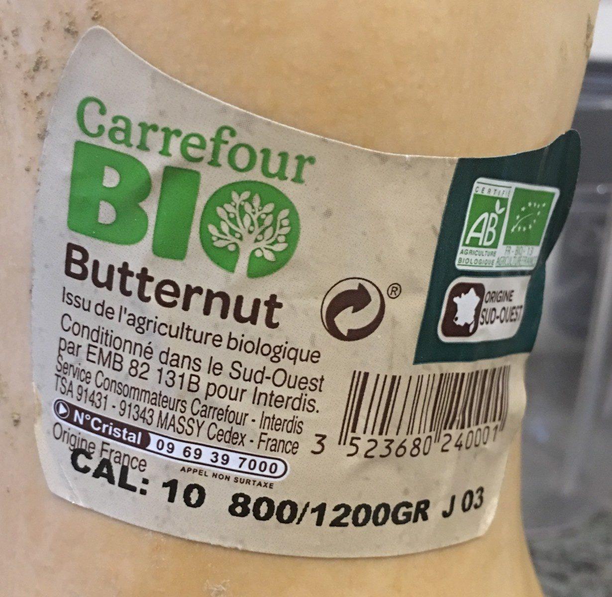 Butternut - Ingrédients - fr