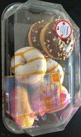 Mini donuts fourres assorti x6 - Product - fr